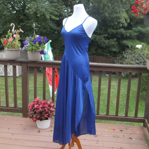Blue Hawaiian Vintage Wedding Dress